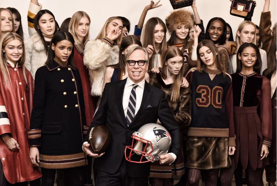 Показ Tommy Hilfiger на Неделе моды в Нью-Йорке
