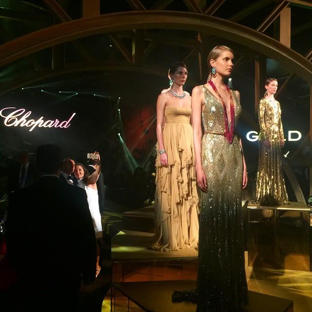 Звездные гости вечеринки Chopard в Каннах