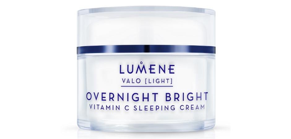 Восстанавливающий крем-сон с витамином С Valo Overnight Bright Vitamin C Sleeping Cream от Lumene