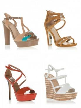 В магазине ELLE Shopping началась распродажа летней обуви