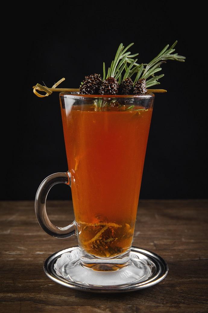Чай с сосновыми шишками