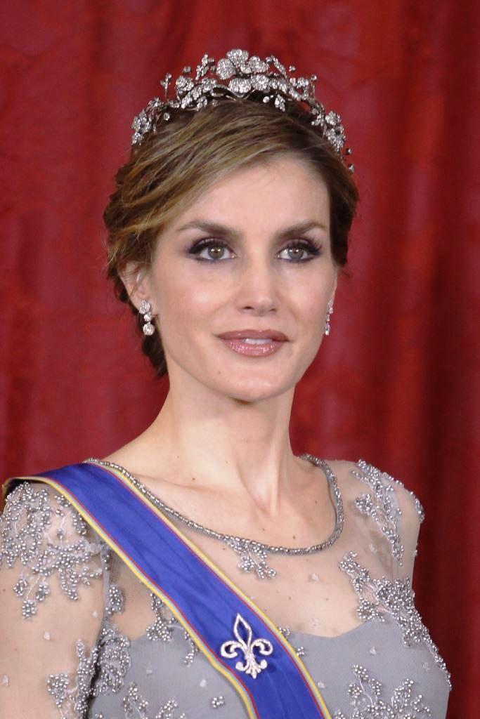 Королева Летиция на приеме в Мадриде