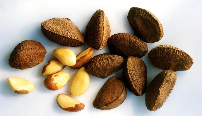 бразильский орех для волос