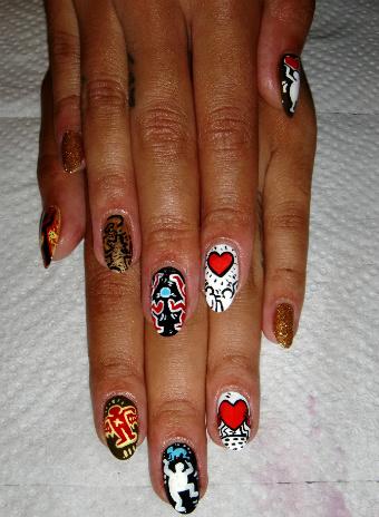 Fleury Rose Nails