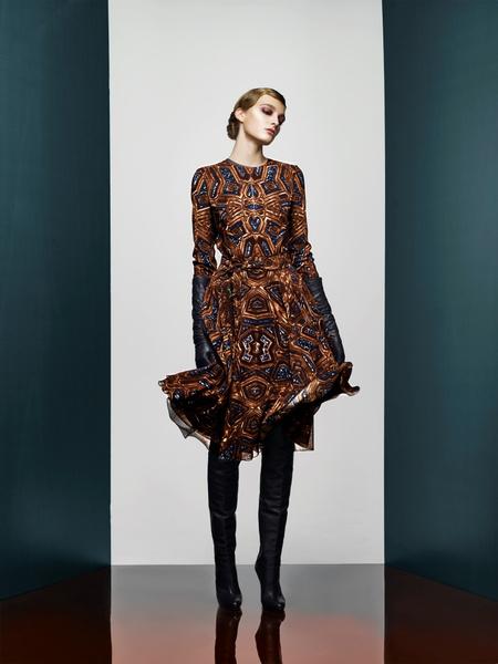 Хозяйка Медной горы: новая pre-fall коллекция A LA RUSSE Anastasia Romantsova | галерея [2] фото [6]