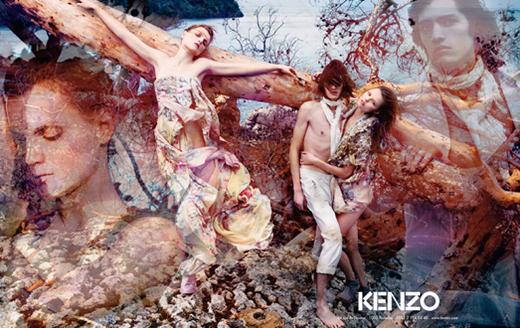 Рекламная кампания Kenzo