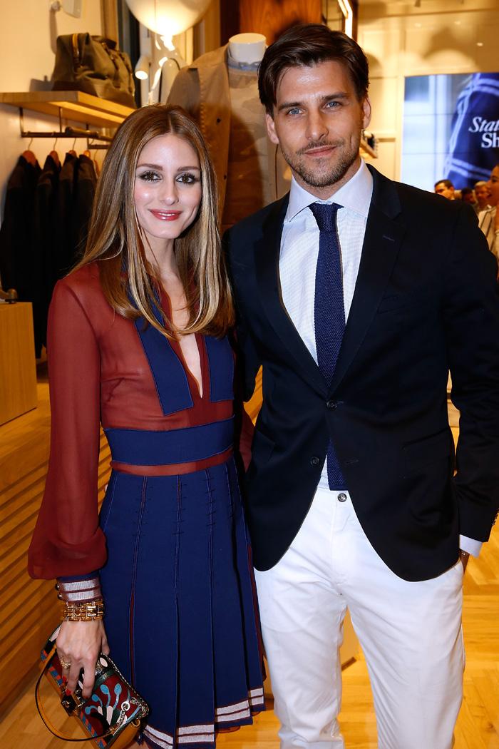 Оливия Палермо с мужем: фото 2015