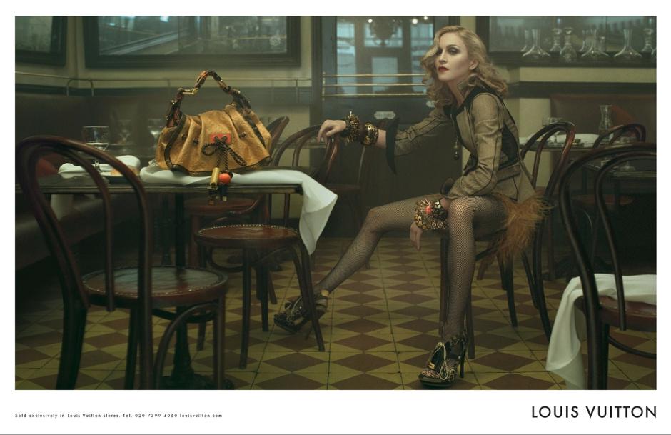 Мадонна в рекламной кампании Louis Vuitton