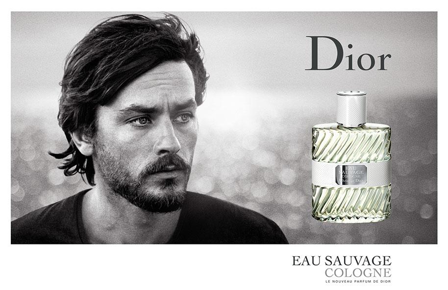 Ален Делон в рекламе Dior Eau Savage