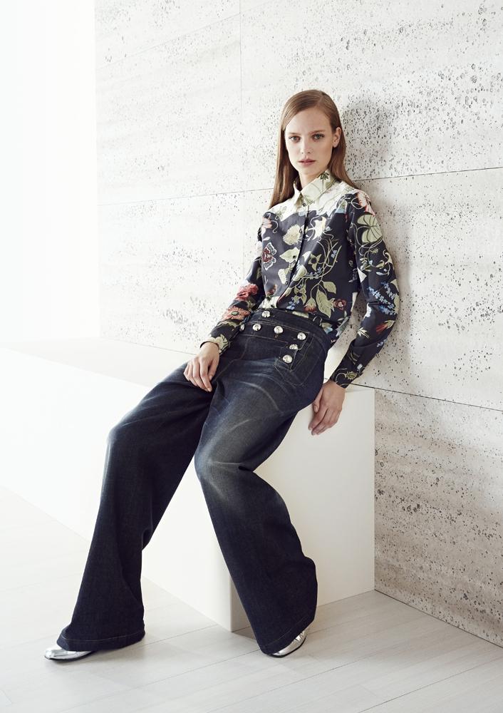 Модные джинсы: фото