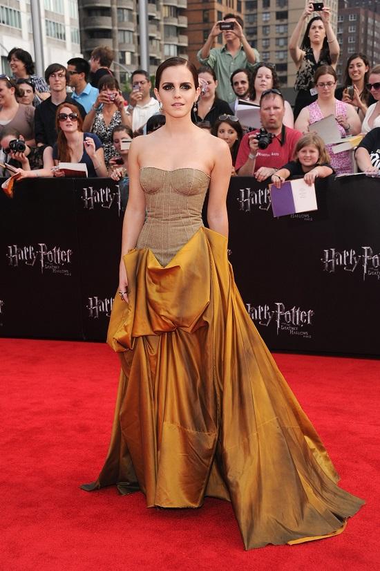 Bottega Veneta на премьере фильма «Гарри Поттер и дары смерти: часть 2» в Нью-Йорке, 2011