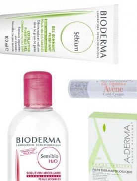 Аптечная косметика Bioderma, Avene, A-Derma
