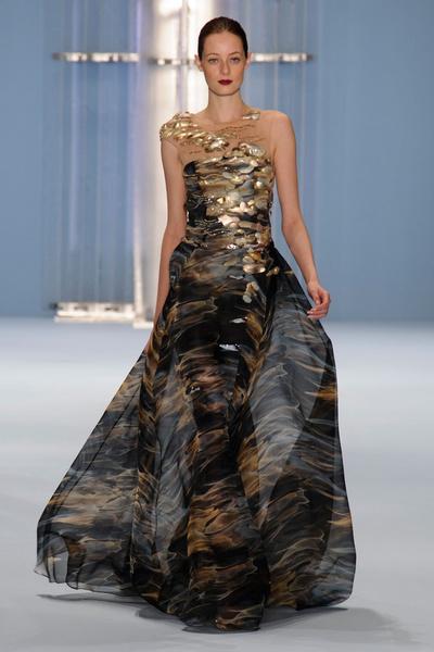 Black tie: показы Carolina Herrera, Reem Acra и Zac Posen на Неделе моды в Нью-Йорке | галерея [2] фото [13]