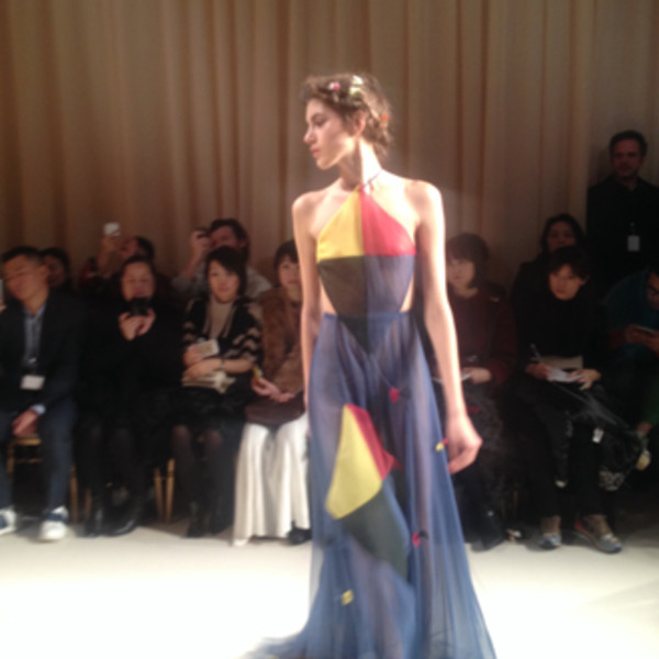 От первого лица: Неделя моды Haute Couture глазами редактора ELLE | галерея [8] фото [1]