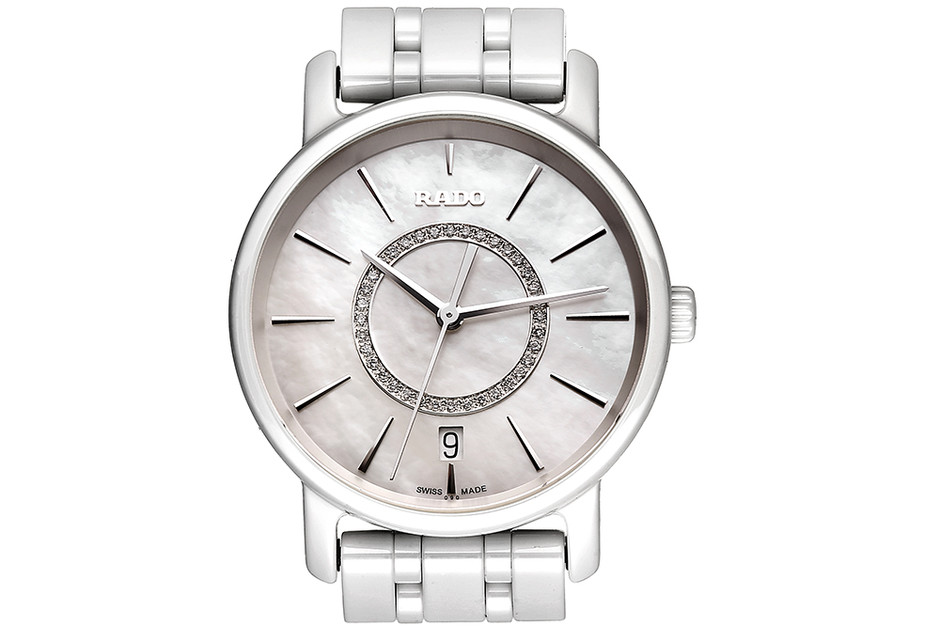 Часы DiaMaster, керамика, бриллианты, Rado, 133 500 руб.