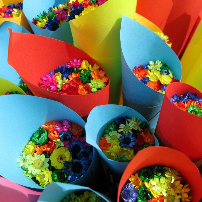 Цветы на первое сентября