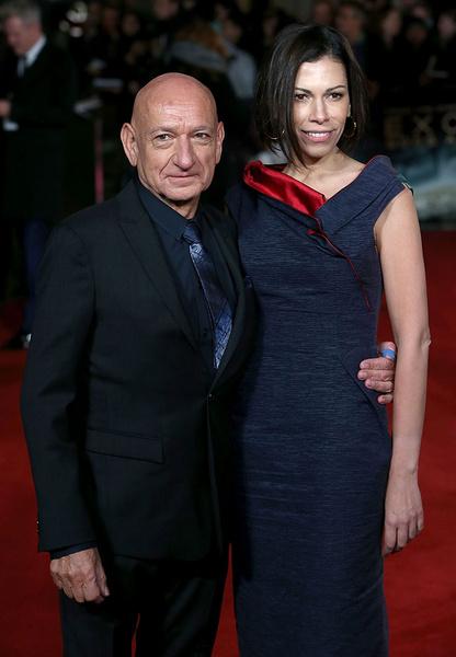 Бен Кингсли с супругой Даниэлой Лавендер