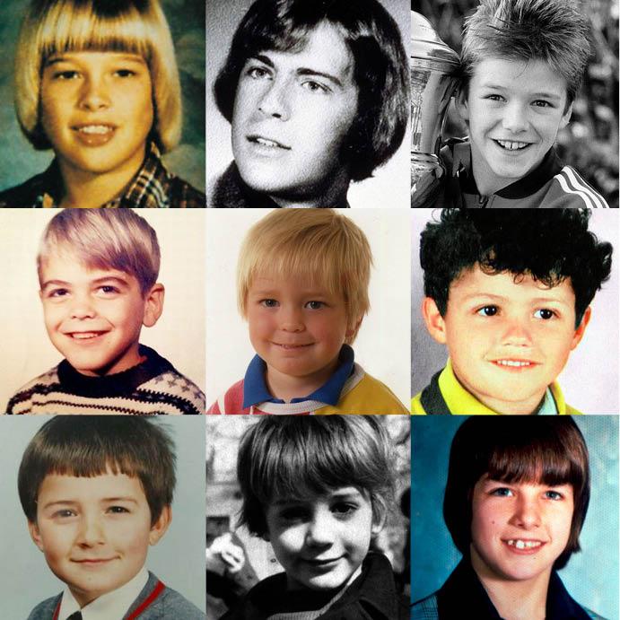 как выглядели самые желанные мужчины на планете в детстве