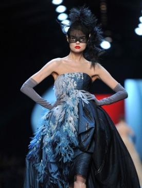 Показ Christian Dior Haute Couture в Париже