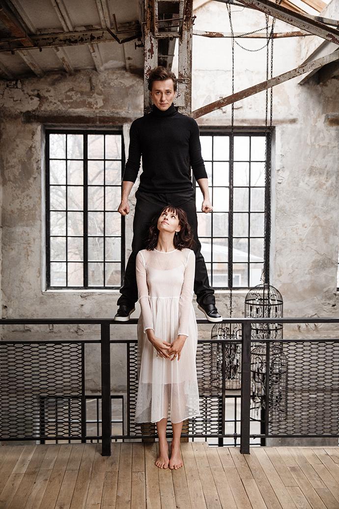 Сергей Безруков и Анна Матисон