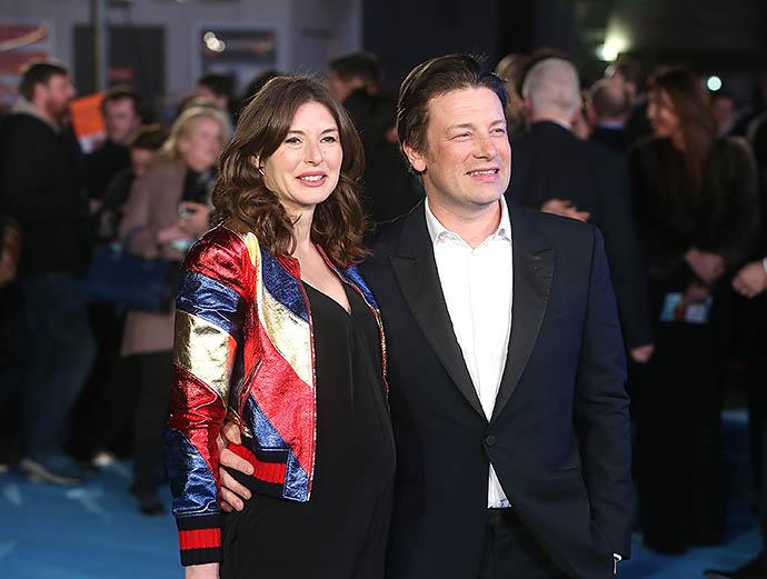 Джейми Оливер с женой Джулс