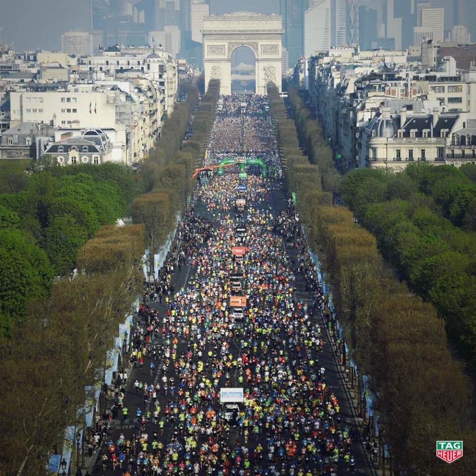 На Парижский Марафон с TAG Heuer
