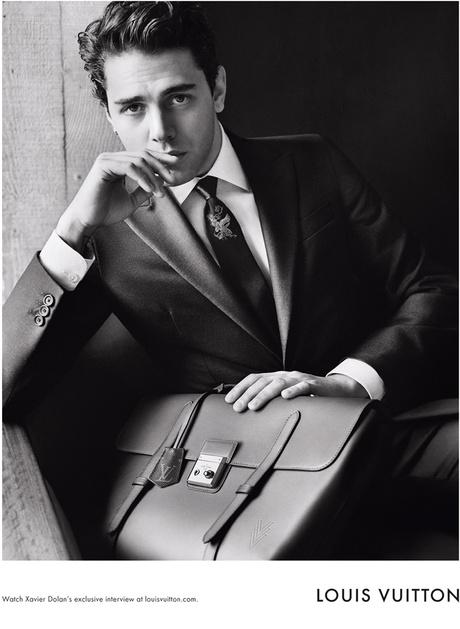 Ксавье Долан – новое лицо Louis Vuitton