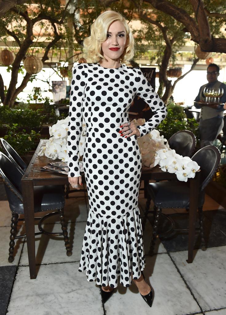 Гвен Стефани в Dolce & Gabbana