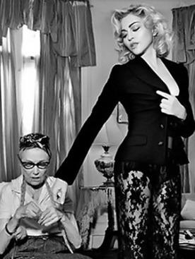 Мадонна для Dolce&Gabbana