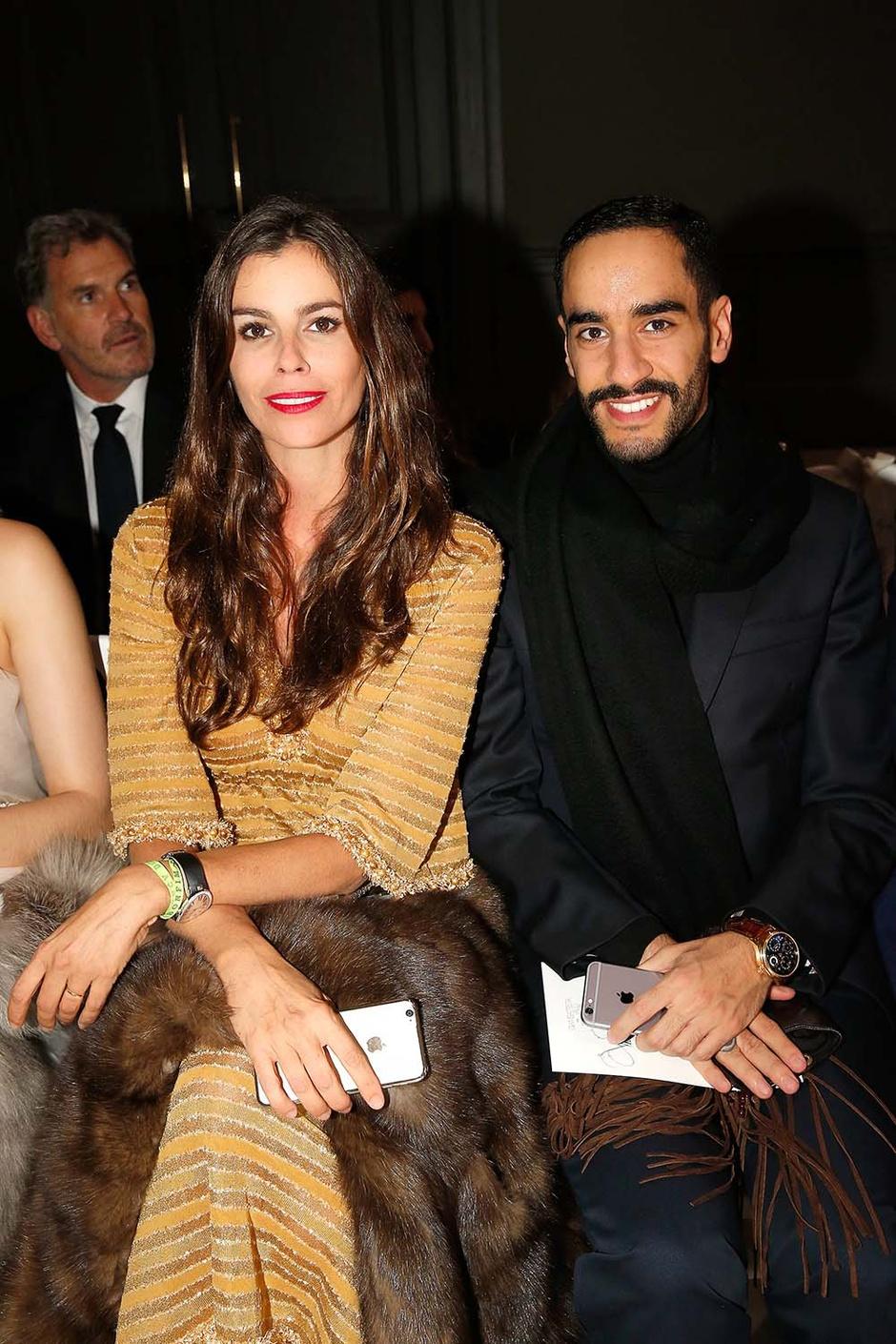 Кристина Питанги и Принц Абдулла Аль-Халифа