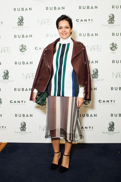 Показ осенне-зимней коллекции Ruban на Mercedes-Benz Fashion Week RussiaПоказ осенне-зимней коллекции Ruban на Mercedes-Benz Fashion Week Russia | галерея [1] фото [8]