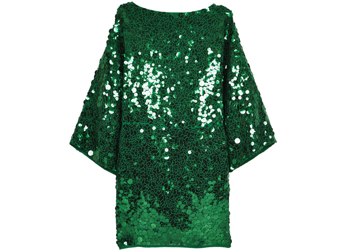 Зеленое платье Asos