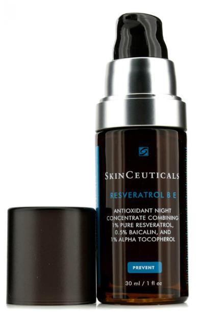 Концентрированный ночной уход для лица Resveratrol B E от SkinCeuticals