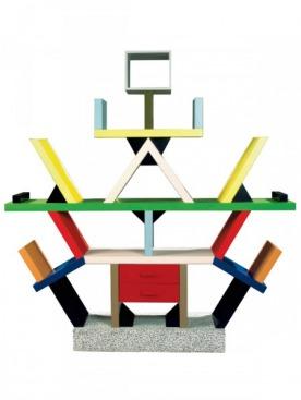 Стеллаж Carlton, дизайн Этторе Соттсасса, 1981 год.