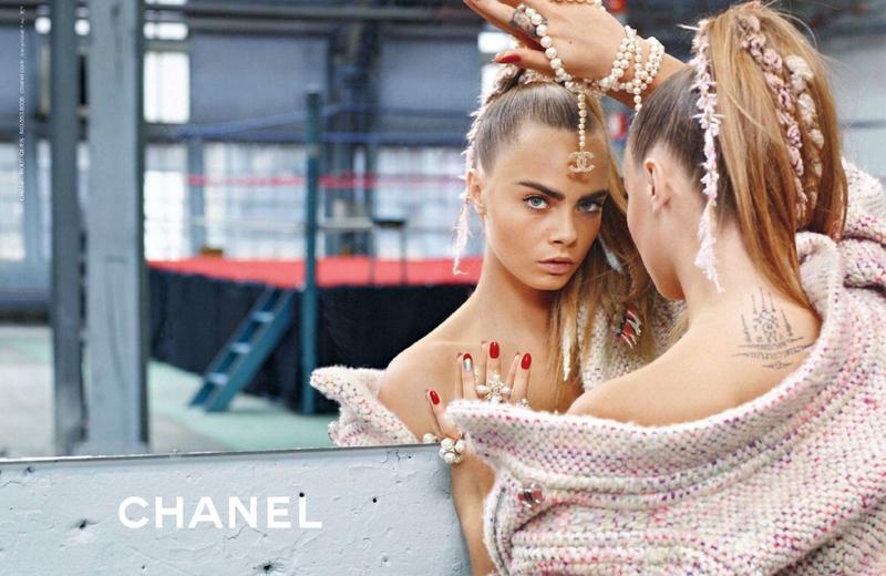 В рекламной кампании Chanel