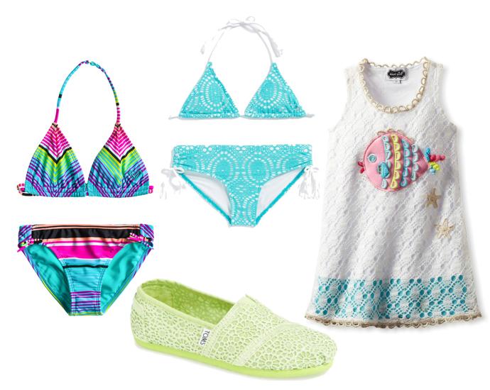 Выбор ELLE : купальник Roxy, бикини Billabong, платье Mud Pie, эспадрильи Toms
