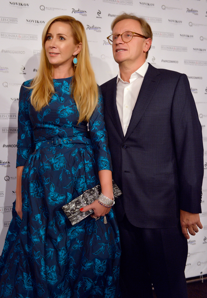 Ника с мужем Борисом Белоцерковским