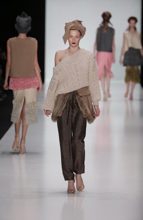 показ ruban 2014-2015 на mercedes-benz fashion week russia