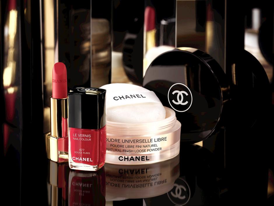 макияж шанель