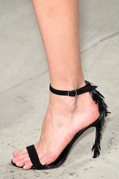 Самая красивая обувь Недели моды в Нью-Йорке | галерея [1] фото [12]
