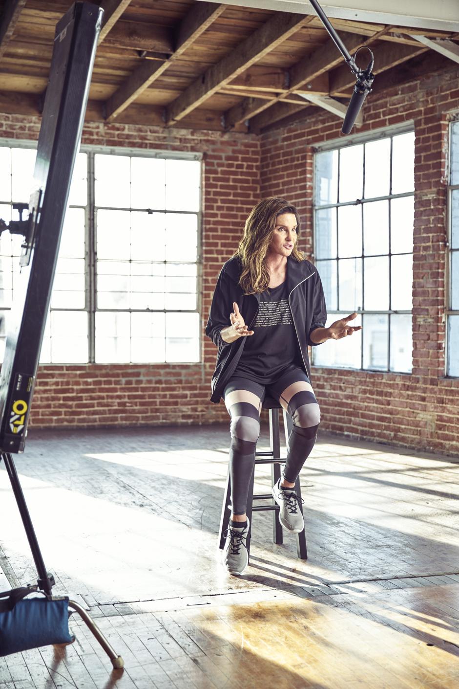 Кейтлин Дженнер в рекламной кампании H&M For Every Victory