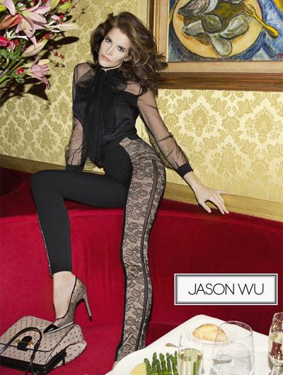 Рекламная кампания Jason Wu
