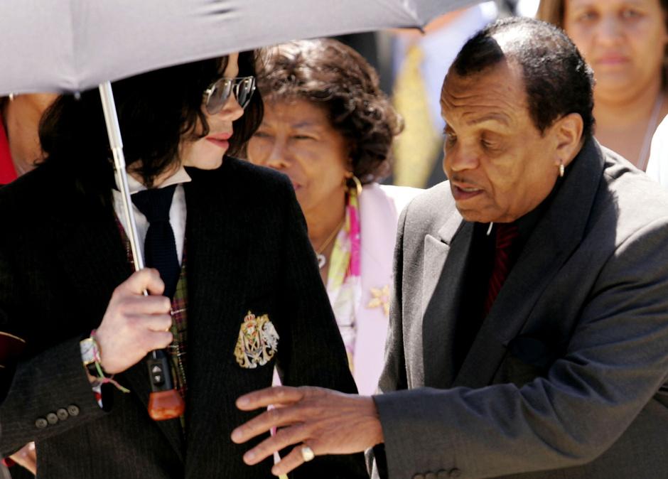 Майкл Джексон и Джо Джексон