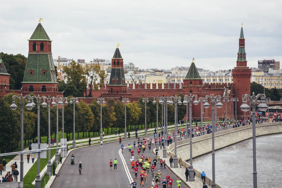 Команда ELLE приняла участие в Московском Марафоне