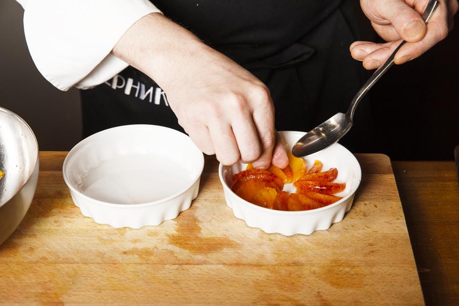 Сицилийские апельсины с сабайоном из апероля