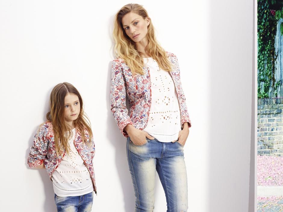 Одинаковая одежда для мам и детей