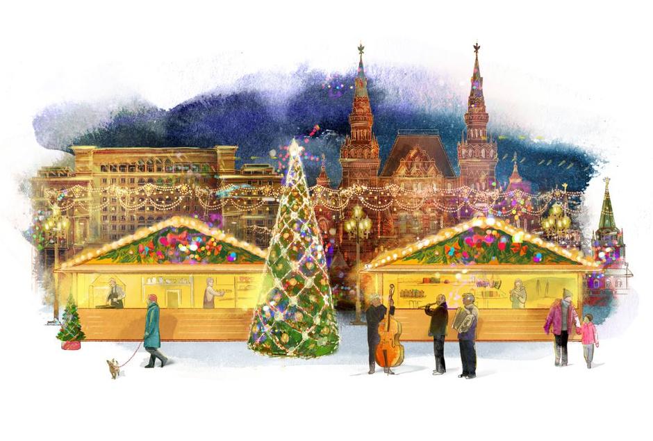 рождественские ярмарки москва 2013