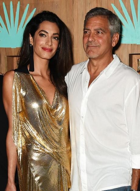 Джордж Клуни с женой: фото 2015
