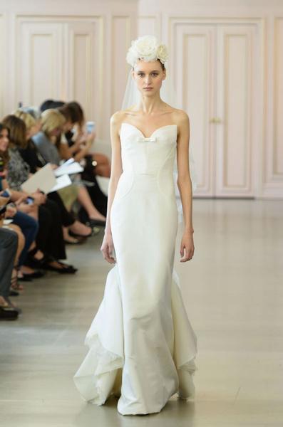 Дом Oscar de la Renta представил новую свадебную коллекцию | галерея [1] фото [14]