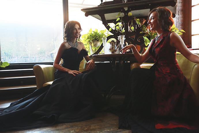 Снежана Георгиева и Мария Лобанова